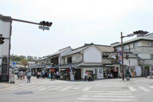そば処「田」アクセス:美観地区入口